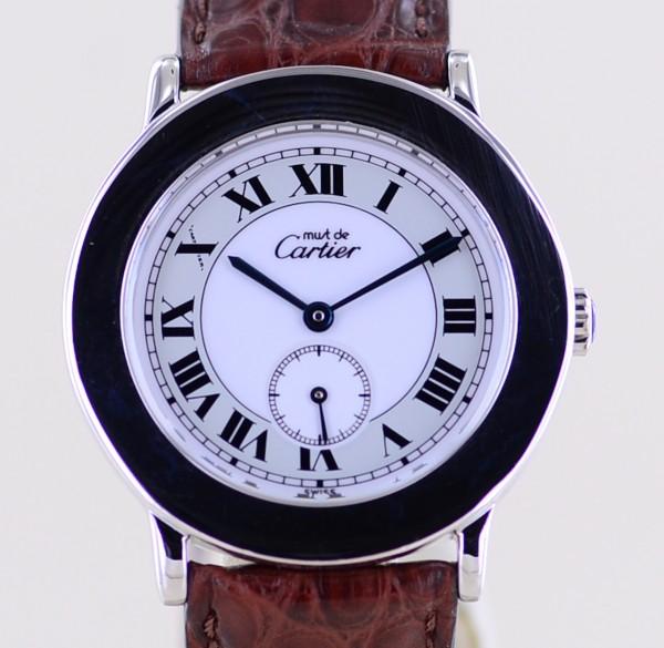 Ronde Sterling 925 silver Klassiker Luxusuhr roman dial 33mm 1815 1 Faltschließe