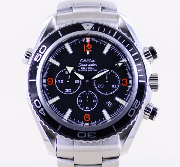 Seamaster Planet Ocean Chronograph Co-Axial 45mm B+P 600M Diver cal. 9300