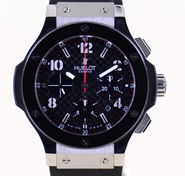 Big Bang Chronograph Stahl Keramik Racing Dial Rubber Strap Luxury 44mm