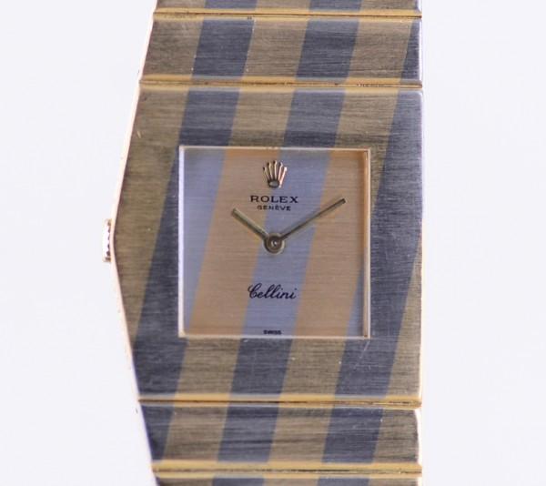 King Midas 18K Whitegold Gelbgold Cal 651 Cellini extrem rar Sammler Box