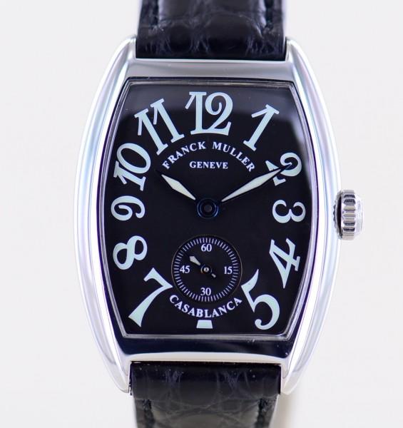 Casablanca Lady black Dial Hand Wind arabic Dial Klassiker Dresswatch medium
