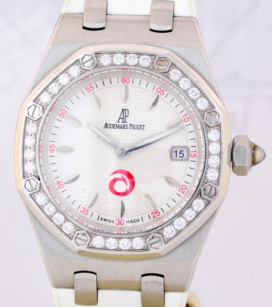 Audemars Piguet Royal Oak Lady Alinghi Limited Edition Luxus Diamantlünette