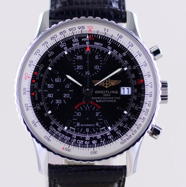 Navitimer 1 mm Speciale Chronograph Schwarz Klassiker black Stick dial