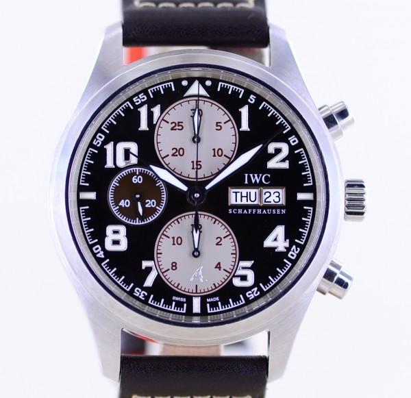 Saint Exupéry Chronograph Pilots Automatic Limited brown Faltschließe B+P