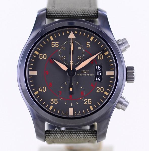 Pilots Watch Chronograph TOP GUN Black Ceramic 46mm B+P Fliegeruhr